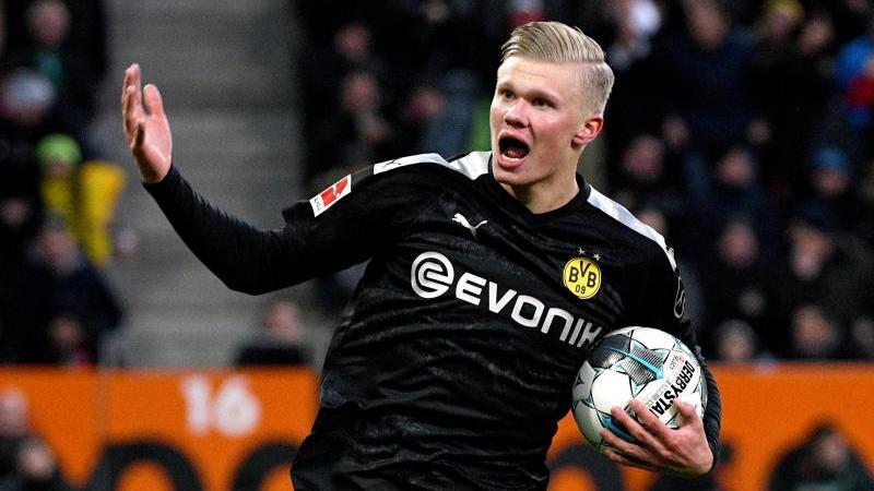 Erling Haaland erzielte bereits drei Treffer für den BVB