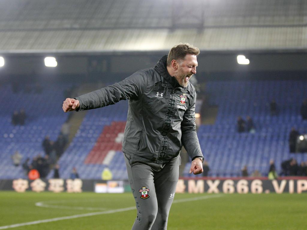 Ralph Hasenhüttl freut sich über einen gelungen Heimsieg