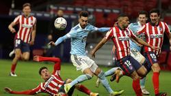 Kein Sieger im Duell zwischen Atlético Madrid und Celta Vigo