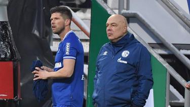 Klaas-Jan Huntelaar könnte gegen den BVB für den FC Schalke 04 zum Einsatz kommen