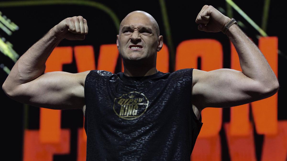 Tyson Fury bekommt es in seinem nächsten Kampf wohl mit Anthony Joshua zu tun