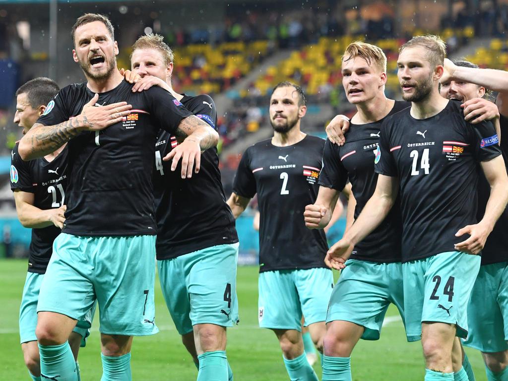 Das ÖFB-Team blickt nach dem umjubelten Auftaktsieg bereits nach vorne