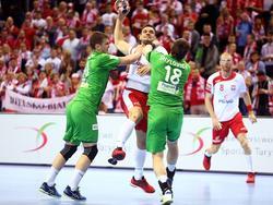 Polen gegen Weißrussland