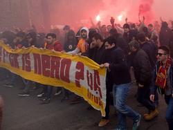 Gala-Fans in Rom
