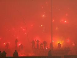 Die Fans von PAOK-Salonik sorgten für einen Eklat