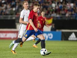 Gerard Deulofeu hizo el gol español. (Foto: Imago)