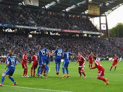 El chileno Marcelo Díaz igualó el partido con un golazo al lanzamiento de una falta. (Foto: Getty)
