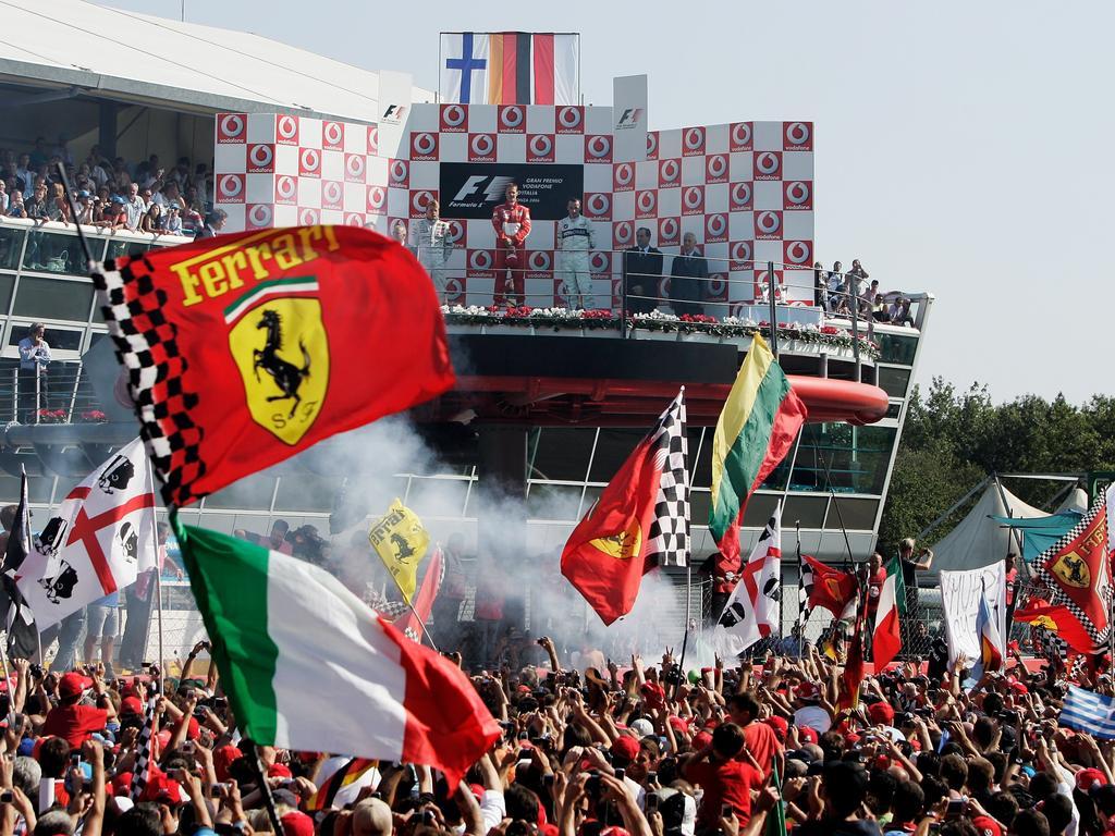Formel 1 Monza 2020