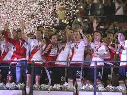 Es la quinta copa internacional obtenida bajo la dirección técnica de Gallardo. (Foito: Imago)