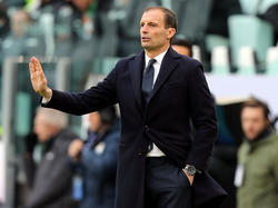 Juve-Trainer Massimiliano Allegri