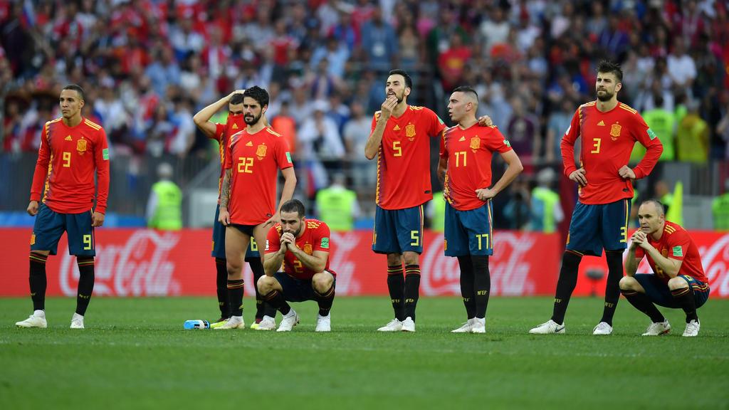 Für die Spanier kam das WM-Aus früher als erwartet