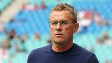 RB Leipzigs Ralf Rangnick war nach dem 2:3 gegen Salzburg alles andere als zufrieden