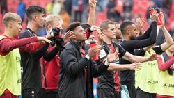 Die Leverkusen-Profis schauen bereits nach vorn