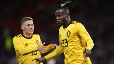 Michy Batshuayi traf doppelt für Belgien