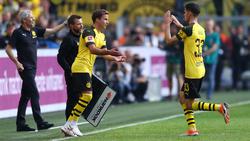 Mario Götze hat beim BVB ein umjubeltes Comeback gefeiert