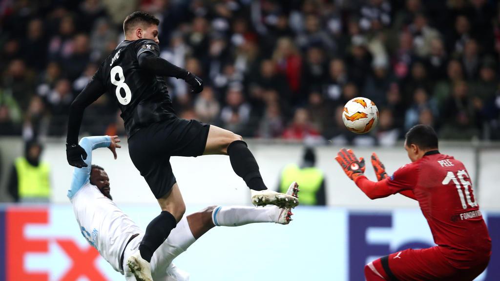 Luka Jovic zeigte mit Eintracht Frankfurt eine besondere Leistung