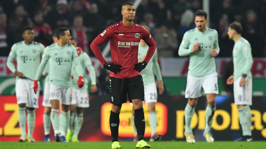 Hannover 96 ist am Tabellenende angekommen