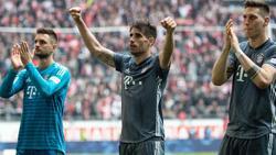 Droht dem FC Bayern im Saisonendspurt auszufallen: Javi Martínez (M.)