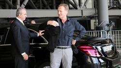Hans-Joachim Watzke würde einen Transfer von Leroy Sané zum FC Bayern begrüßen