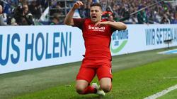 Luka Jovic sorgte bei Eintracht Frankfurt für Furore