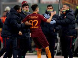 La Roma dio la vuelta ante sus 'tifosi' con los tantos de Stephan El Shaarawy (45+1'). (Foto: Getty)