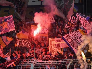 Die Fans von Carl Zeiss Jena hoffen auf eine Rückkehr in den bezahlten Fußball