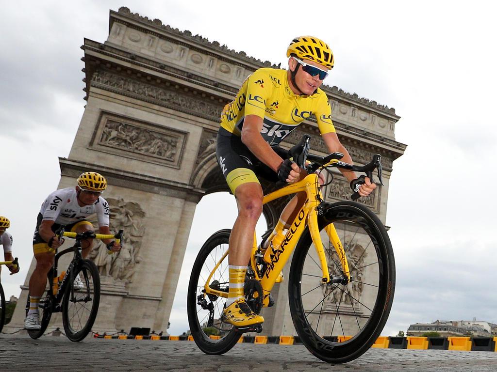 Chris Froome gewann 2017 die Tour de France
