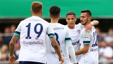 Schalke 04 steht in der zweiten Runde des DFB-Pokals
