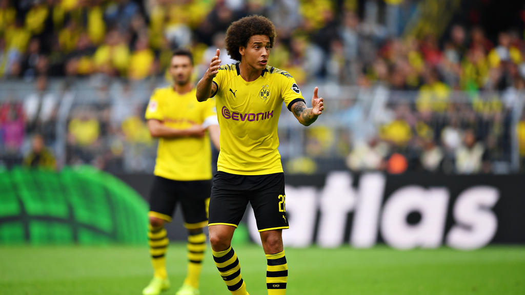 Axel Witsel fühlt sich beim BVB pudelwohl