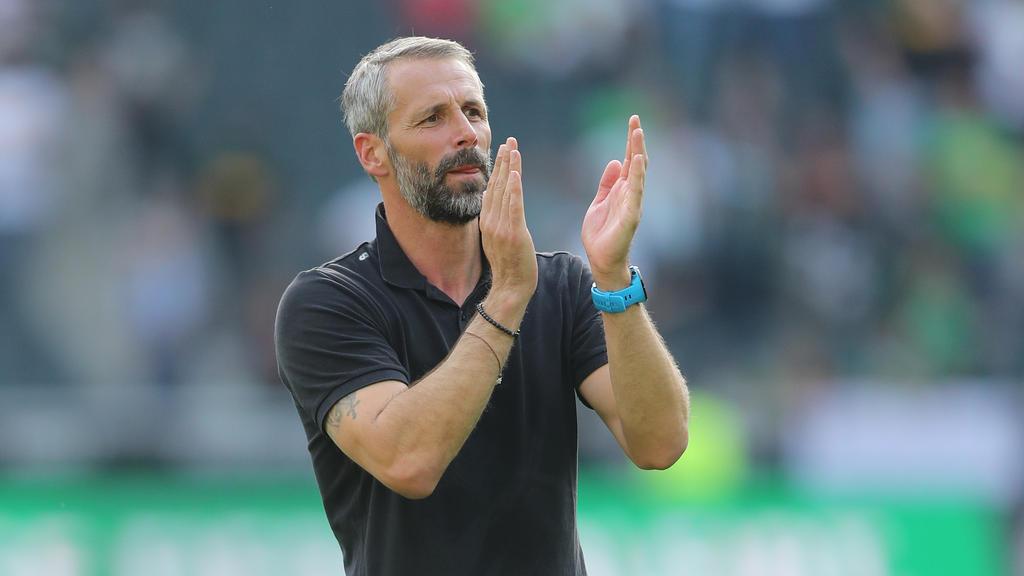 Marco Rose wechselte den Sieg gegen Fortuna Düsseldorf ein