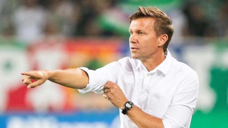Coach Jesse Marsch spielt mit Red Bull Salzburg erstmals in der Champions League. Foto: Georg Hochmuth/APA