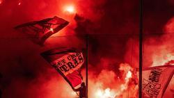 Fans des VfL Osnabrück brannten beim VfL Bochum Pyrotechnik ab