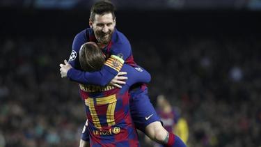 Lionel Messi erzielte gegen Mallorca drei Treffer