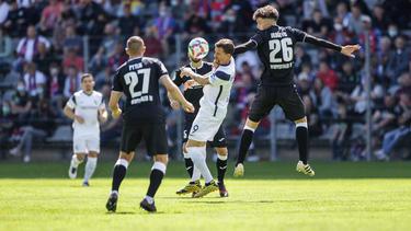 Der VfL Bochum tat sich gegen den Wuppertaler SV lange schwer