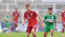 Justin Janitzek bleibt dem FC Bayern erhalten