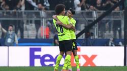 Haben in Paulo Sousa einen großen Bewunderer: Die BVB-Profis Axel Witsel und Mahmoud Dahoud