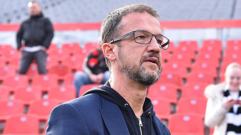 Fredi Bobic ist der Sport-Vorstand von Eintracht Frankfurt
