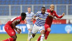 Duisburg kam gegen Würzburg nicht über ein 1:1 hinaus