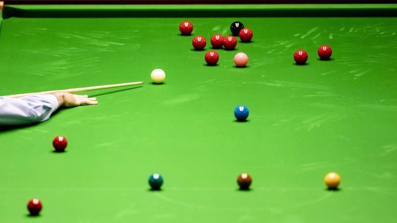 300 Zuschauer vor Ort können die Snooker-WM in Sheffield live verfolgen