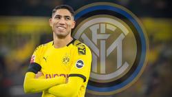 Achraf Hakimi ist von Dortmund nach Mailand gezogen