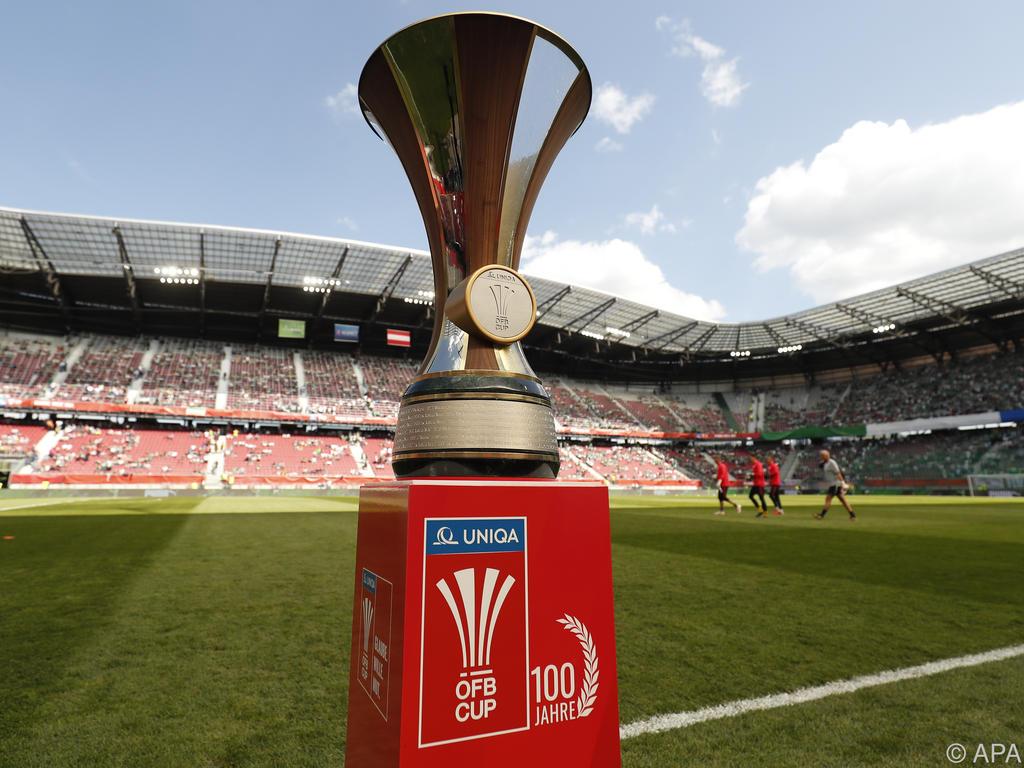 Die erste Runde des ÖFB-Cups ist ausgelost