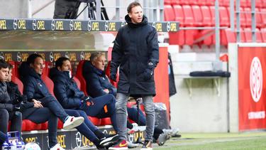 Julian Nagelsmann unterlag mit seinen Leipzigern in Mainz