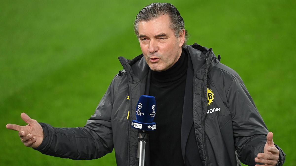 Michael Zorc hat der Auftritt des BVB in Manchester gefallen