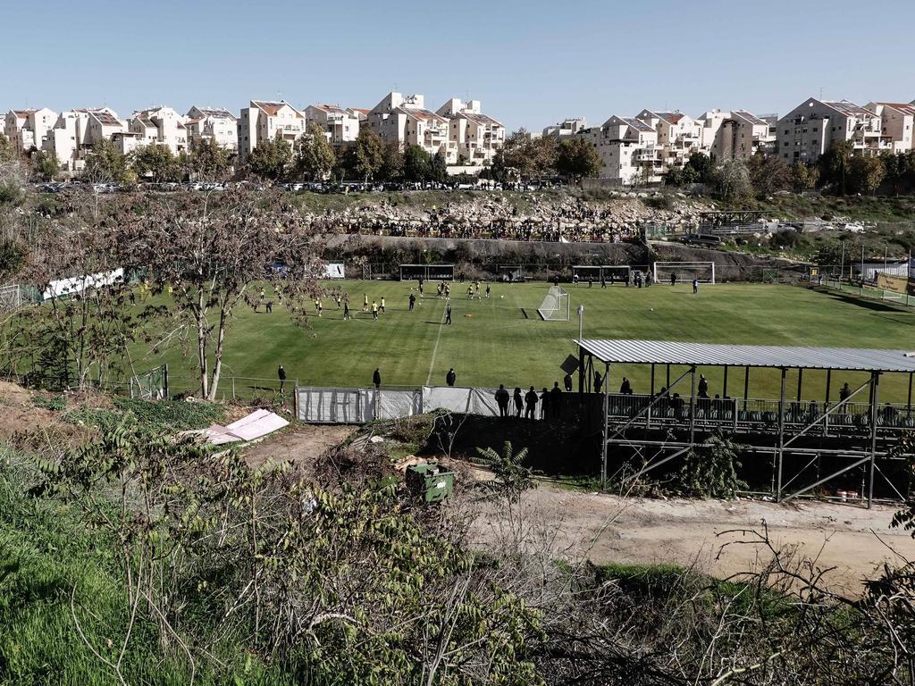 Beitar Jerusalem beim Training (November 2020)