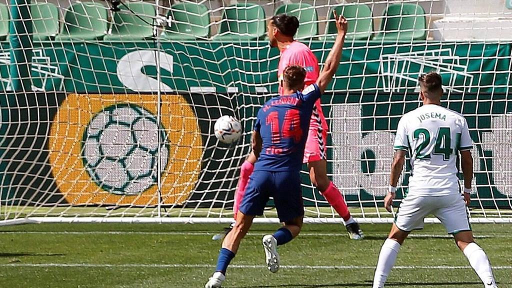 Marcos Llorente traf gegen Elche zum Sieg