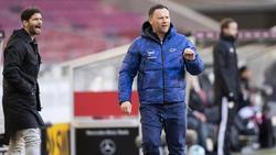 Pál Dárdai tritt mit Hertha BSC beim 1. FSV Mainz 05 an