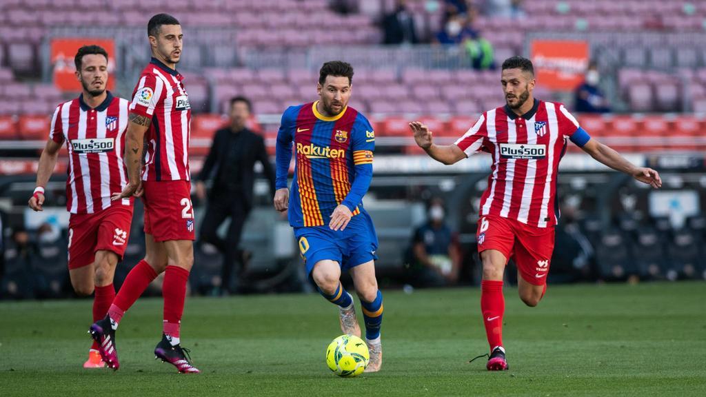 El Atlético jamás ha ganado en el Camp Nou con Simeone.