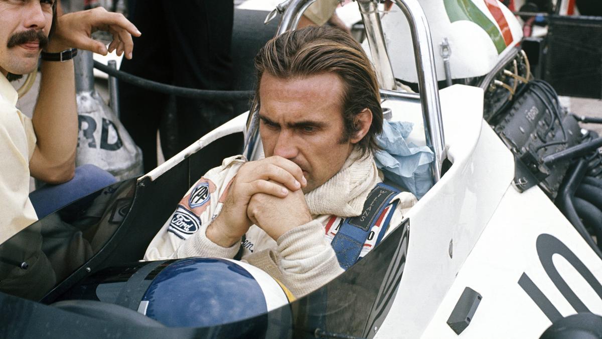 Reutemann, hier im Jahr 1973, liegt im Krankenhaus