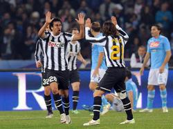 Spitzenspiel in Napoli