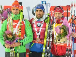 Arnd Peiffer wird Zweiter in Östersund 2015